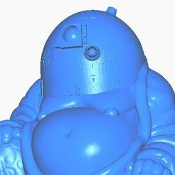 rclose.png Download free STL file R2D2 Buddha (Star Wars Collection) • 3D printing model, ToaKamate