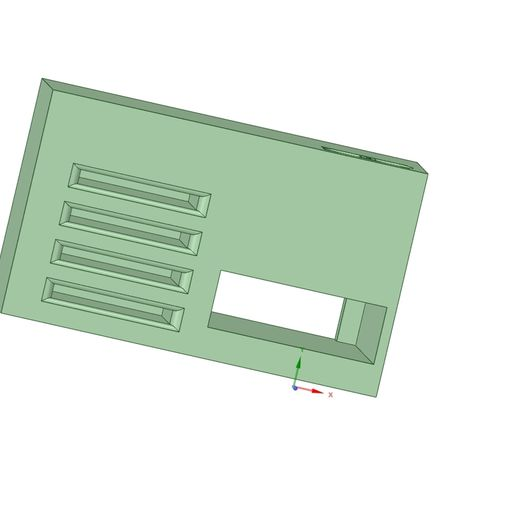 sd_card_holder.jpg Download free STL file SD Card Holder Tronxy XY-2 Pro • Object to 3D print, simonlewis962