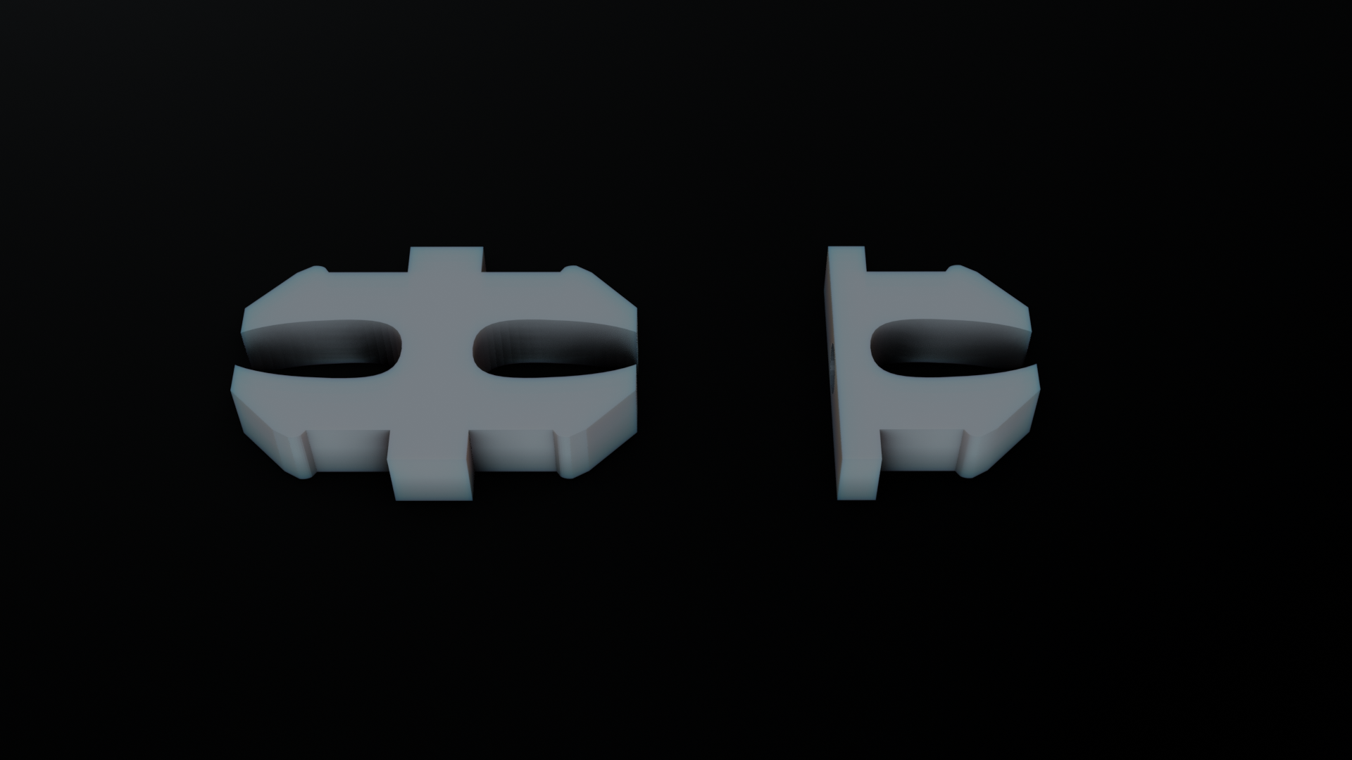 clips.png Download STL file Sci Fi Terrain Pack • Template to 3D print, CarlCreates