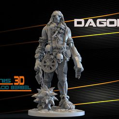 GIGANTES-WARHAMMER-STL-3D.jpg Download STL file GIANT DAGO STL • 3D printer model, RECURSOSZBRUSH