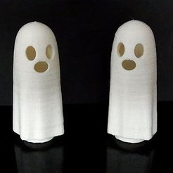 wobbly_ghosts_display_large.jpg Download free STL file Wobbly Ghosts! • 3D print model, Muzz64