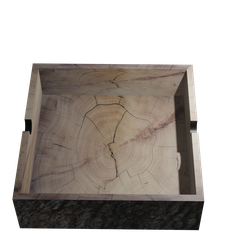 CasualCeni1.png Download free STL file Wood Ashtray • 3D printable template, Rauul19