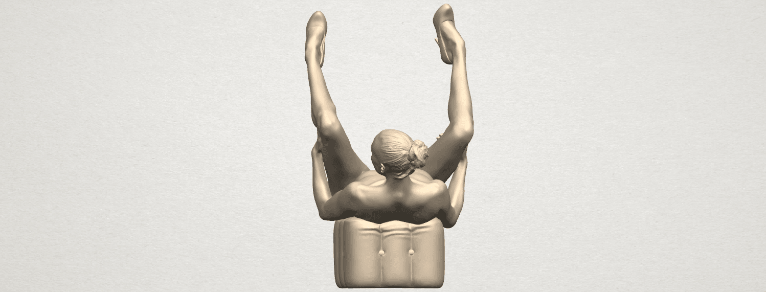 TDA0291 Naked Girl B08 A06.png Download free file Naked Girl B08 • Model to 3D print, GeorgesNikkei