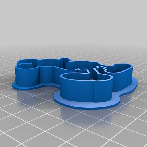 48d4106ceb8959b07ad315a74dac8425.png Download free STL file Cookie_cutter_Mickey • 3D printable template, BOUVERAT3DPrint