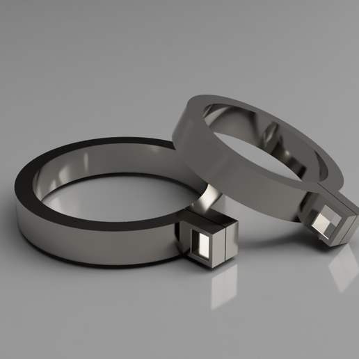 rep.png Download STL file The Rising of the Shield Hero Raphtalia shackle-bracelets • Design to 3D print, manukrafter