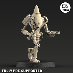 automa-render-4.png Download free STL file Vinci Automa Guard • 3D printer template, onepagerules
