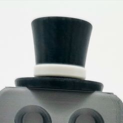 IMG_20210117_221659.jpg Download free STL file HAT FOR CYBER_ROB THE ROBOT (EXPANSION) • 3D print design, Cyber_3dprinter