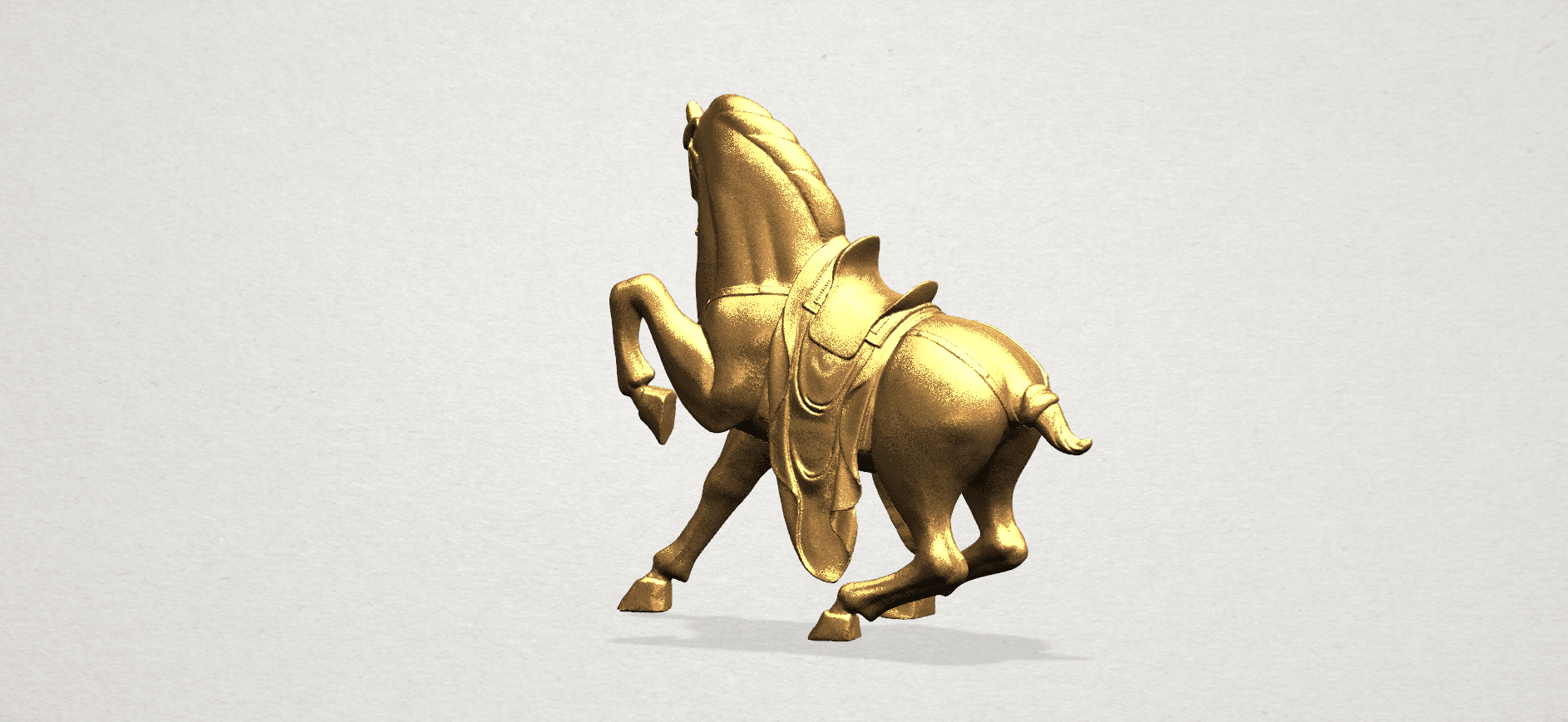 Horse III - B05.png Download free STL file Horse 03 • 3D printing template, GeorgesNikkei