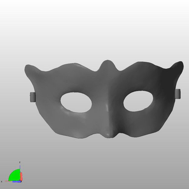 Mask1-Small-a.jpg Download STL file Mask - small • 3D print template, djgeenen