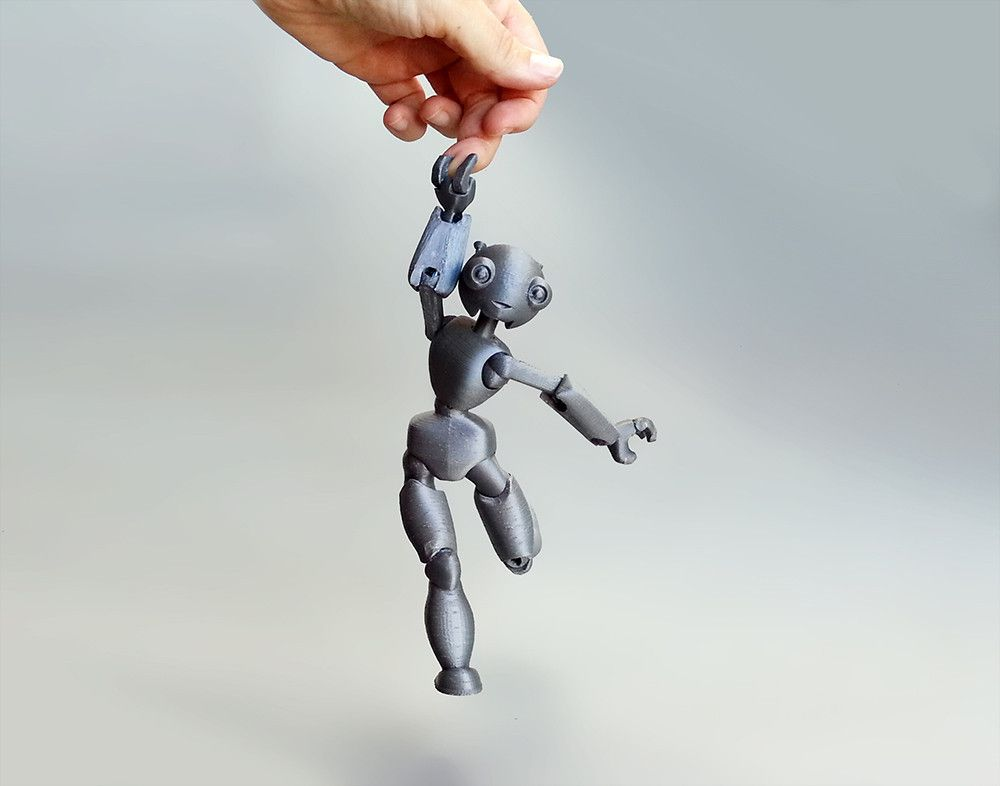 3D Printed Jointed Robot
