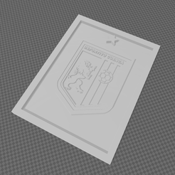2.PNG Download STL file Shield frame of Club Deportivo Cuenca • Template to 3D print, Davirock3D