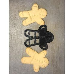 436fa8ed31f48665a851948478c09e34_preview_featured.jpg Download free STL file Gingerbread Cookie Cutter • 3D printer model, Cookiemonster