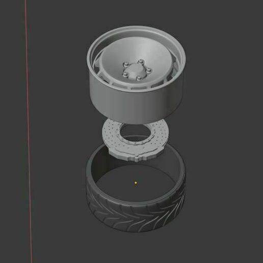 e0.jpg Download STL file Rota 154 Wheel set Front and Rear with 2 offsets and 2 tires • 3D printer template, BlackBox