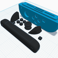 Joycon Game Case.png Descargar archivo STL gratis Joycon Game Case • Plan para la impresión en 3D, Cart3r
