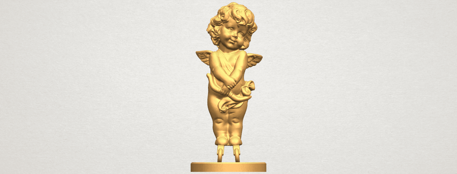 TDA0479 Angel Baby 02 ex800 A01.png Download free STL file Angel Baby 02 • 3D printer model, GeorgesNikkei