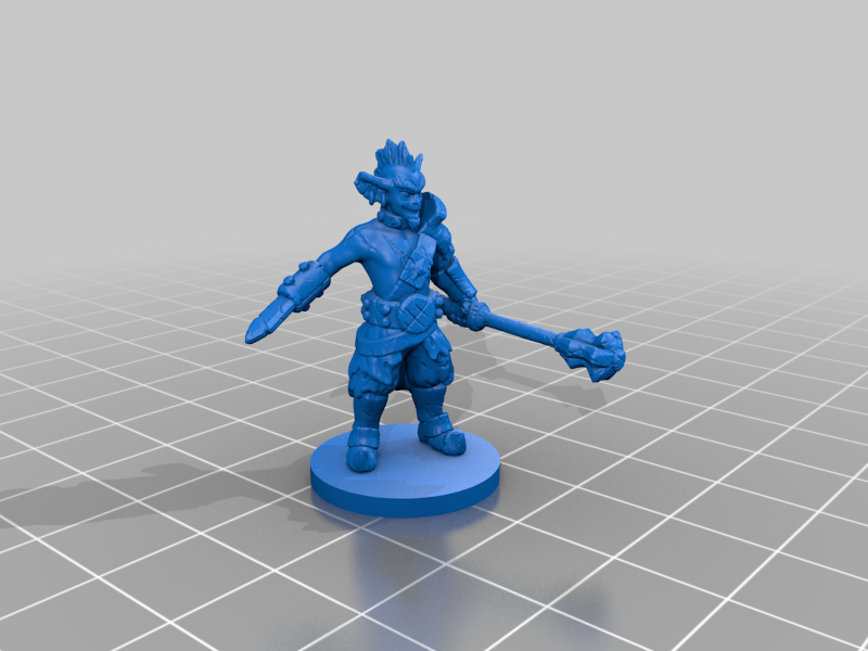 Goblin_ver3.png Download free STL file Goblin ver3 • Object to 3D print, schlossbauer