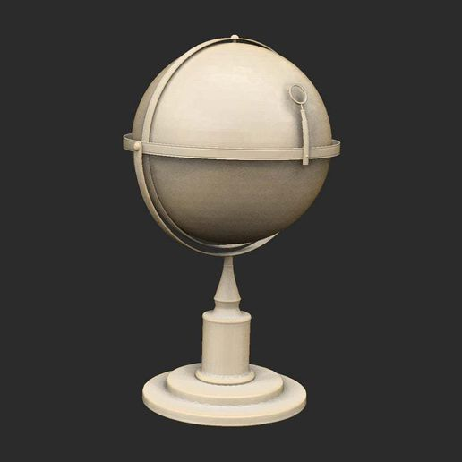GlobeStandingLarge.jpg Download free STL file Various Cthulhu Props x25 • 3D printing object, CharlieVet