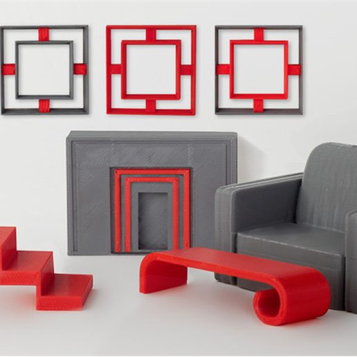 download-19.png Download free STL file Modern Table • 3D printable template, D5Toys