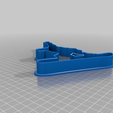 8cd7adc6bce218c80d52b070b62a5170.png Download free STL file cookies cutter snowboarder • Template to 3D print, BOUVERAT3DPrint