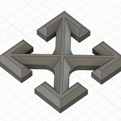 1.png Download STL file Off white logo • 3D printable template, Argon
