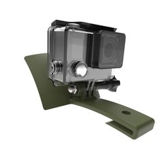 hatmount218.jpg Download STL file GoPro Ball Cap Mount • 3D printing object, Access_Airsoft