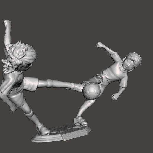03_TOM.jpg Download STL file OLIVER AND TOM SUPER CHAMPIONS (HOLLY AND TOM CAPTIAN TSUBASA) • 3D printing template, MisJuguetes