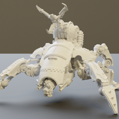 1.png Download free STL file Knightly blood hound arachnid • Template to 3D print, csgmotions