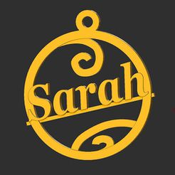 Sarah.jpg Download STL file Sarah • 3D print object, merry3d