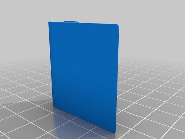 bfce316d923e6865524e94672686de18_preview_featured.jpg Download free STL file Pen holding tab for any pen/pencil and any notebook/notepad • 3D printing model, wildrosebuilds