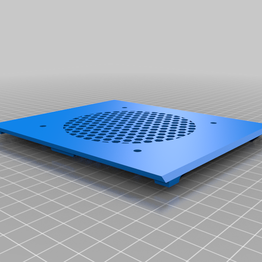 Top_v3.png Download free STL file SKR E3 Mini and stock Creality mainboard Electronics Enclosure - REMIX • 3D printing design, LiveFromNewYawk