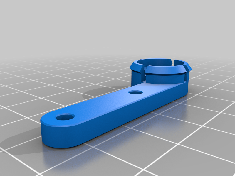 Dropping_Filament_Runout_Arm.png Download free STL file Dropping Filament Runout (Sunlu S8/Creality CR-10) • Template to 3D print, LittleHobbyShop