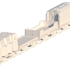 Train-All.png Download file Forge Train for 28mm Tabletop Gaming • 3D print template, lfactiondesigns