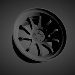 Rays Volk CE28.png Download file Rays Volk CE28 SCALABLE AND PRINTABLE RIMS • 3D print object, rob3rto