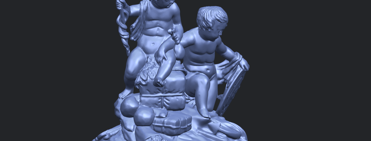 23_TDA0271_Two_kids_iiA10.png Download free STL file Two kids 02 • 3D printable model, GeorgesNikkei