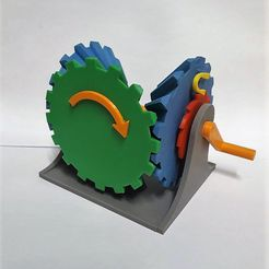 Clockwise Mechanism 1.jpg Download STL file Clockwise Mechanism • 3D printer model, Chrisibub