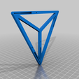 Down_base.png Download free STL file Tensegrity - Impossible table (Hidden wire and tensioner) • 3D printing template, louisnairaud