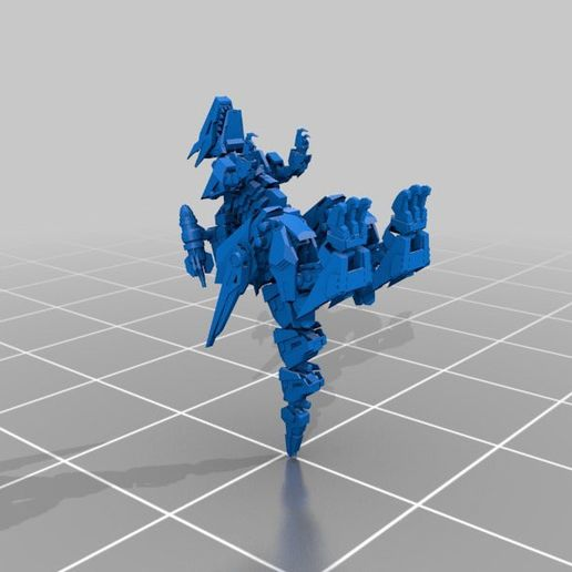 f5feb65f1502f66fd34926c5cd766a6c_display_large.jpg Download free STL file MORE ZOIDS • 3D printing template, Peanut3DButter