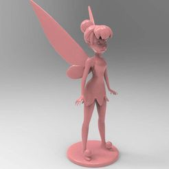 untitled.95.jpg Download free OBJ file Tinkerbell • 3D printer object, veganagev