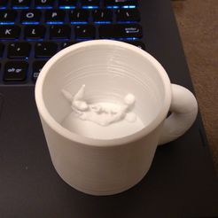 bunnycup.jpg Download STL file Bunny in a cup • 3D print model, tiranix