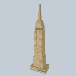 empire_state.png Download free STL file puzzle empire state building • 3D printer template, tyh