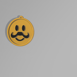 NEW_FACE_MEDAL__0_.png Download free STL file NEW FACE # 3 • 3D print object, admis