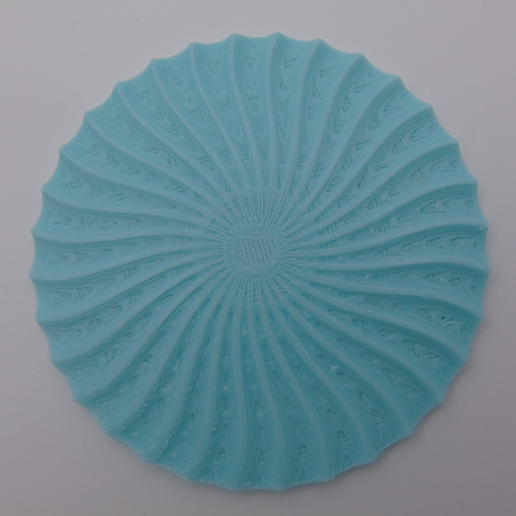 Capture d'écran 2018-01-26 à 15.58.31.png Download STL file Radial drinks coasters with holder • 3D printable object, Pongo