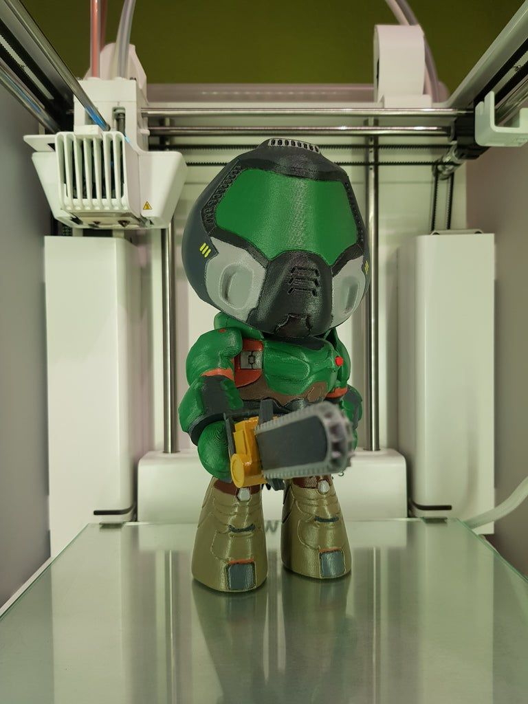20190227_155114.jpg Download free STL file DooM Guy - Collectable Figure (DooM 2016) • Template to 3D print, Dragon2781