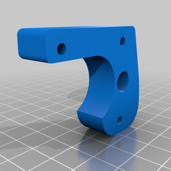 Z_Holder_Hic_to_Prusa_1.2.png Download free STL file Conversion motor carrier for the z-rail from HICTOP to Prusa MK2 style • 3D print template, MrPenguin