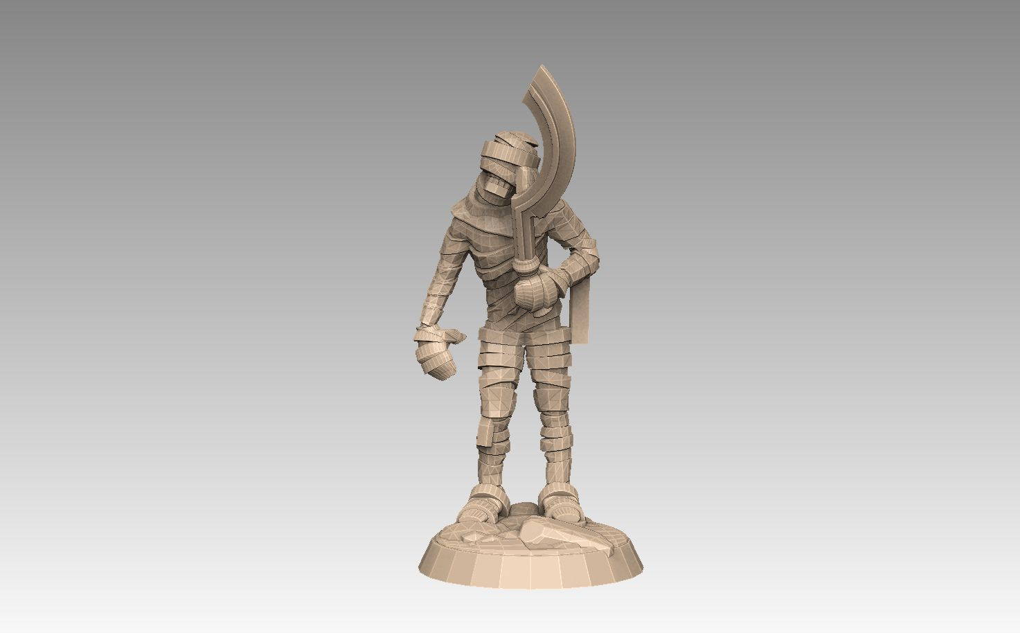mh2-prom4f.jpg Download STL file Mummy Pack 1 • 3D printing object, SharedogMiniatures
