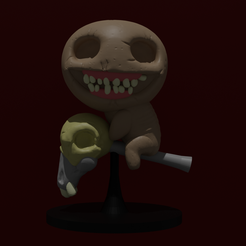 Famine.png Download STL file The Binding of Isaac (Famine) • 3D printer template, M_Dima