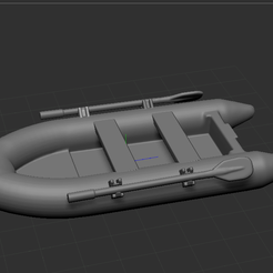3.PNG Download STL file fishing boats • 3D printable template, NICOCO3D