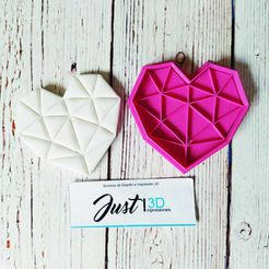 """WhatsApp Image 2021-01-11 at 9.15.34 AM.jpeg Download STL file VALENTINE'S DAY """"ORIGAMI HEART"""" • 3D printable object, FloR"""