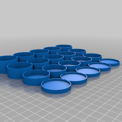 Paint_Organizer_v1.png Download free STL file Paint bottle organizer (with F3D source) • Template to 3D print, luiscoel