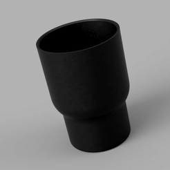 YetiCooliHolder.png Download free STL file Yeti Coozie to Cup Holder Adapter • 3D print template, tysonbunker